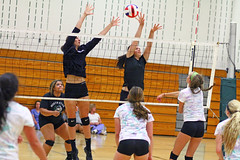 IMG_7382 (SJH Foto) Tags: girls volleyball high school scrimmage northstar boswell pa pennsylvania action shot