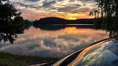 Tramonto a Vodn - Kamenice nad Lipou (Luna y Valencia) Tags: vodna kamenice kamenicenadlipou tramonto sunset puesta del sol macchina coche auto car ceskarepublika repubblicaceca republicacheca