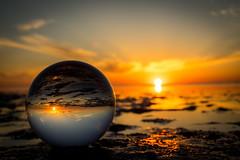 Cuxhaven-Duhnen (TS_1000) Tags: cuxhavenduhnen cuxhaven duhnen strand nordsee glaskugel kugel crystalball watt ebbe neuwerk niedersachsen sommer sonne sonnenschein sonnenuntergang