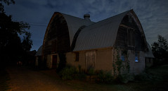 365-301 ( estatik ) Tags: 365301 365 301 september102016 sept 91016 sat saturday night barn nj new jersey hunterdon county eastamwell wertsville rd road preserved farmland open space project notabandoned longexposure