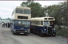 WMPTE, 6833 NEC, Birmingham, 1978 (Lady Wulfrun) Tags: wmpte metrobus 6833 nec motorshow birmingham 21st october 1978 joj257 2257 93 recovery ancillary vehcile towtruck nationalexhibitioncentre mcw sda833s