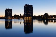 Rotterdam: Coolhaven (jmtennapel) Tags: architectuur avond canon6d city cityscape coolhaven dawn evening nacht reflectie reflection rotterdam schemer stad zuidholland netherlandsthe nl sigma50mmf14dgexhsm urban water deschie