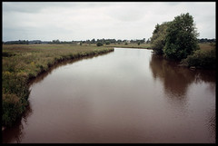 1st of June 2016 (Paul of Congleton) Tags: june 2016 laroussire vende paysdelaloire france river vie rural olympus om4ti 35mm fujichrome sensia colour slide transparency film