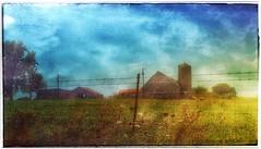 Yesterday... (Sherrianne100) Tags: hff fence silo peaceful barn farm ozarks missouri