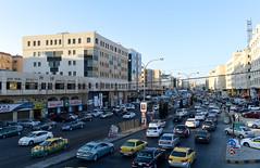 Rush hour in Amman (Francisco Anzola) Tags: amman jordan city afternoon traffic rushhour cars buildings