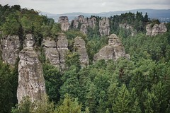 Cliff town of the central Bohemian Paradise (beyondhue) Tags: czech paradise hruba skala cliff town republic beyondhue panorama vista view summer forest rock formation h