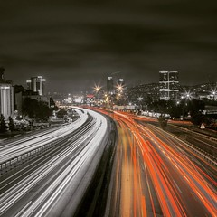 Rush hour in Istanbul.. (Halil Sopaolu HN I Photography) Tags: flickr longexposure istanbul instagramapp square squareformat iphoneography ludwig
