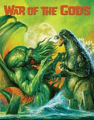 Cthulhu vs. Godzilla by Bob Eggleton, 2015 (Tom Simpson) Tags: cthulhu godzilla kaiju illustration bobeggleton painting art 2015 2010s monster godzillavscthulhu cthulhuvsgodzilla hplovecraft lovecraft cover famousmonsters