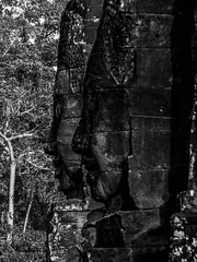 patrickrancoule-440 (Patrick RANCOULE) Tags: angkor angkorwat bouddha cambodge cambodia architecture bouddhisme noiretblanc sculptures temple visage