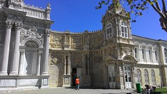 Dolmabahe Palace - stanbul, Turkey (Abdulbaki Can) Tags: dolmabahe saray palace istanbul turkey trkiye europa