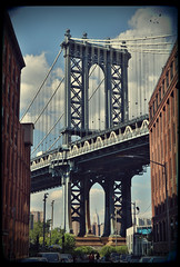 Manhattan Bridge (Rino Alessandrini) Tags: ponte scorcio vista brooklyn strada ferro struttura veduta manhattanbridge bridge glimpse views iron structure view road empirestatebuilding