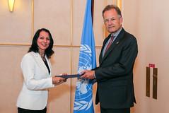 Presentation of credentials: Israel (UN Geneva) Tags: unitednations geneva