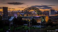 Tyne Bridge & St. Mary's Heritage Centre (Splendid What) Tags: 2016 calecrosshouse church night nightscene quayside september stjamespark sunset tynebridge stmarysheritagecentre