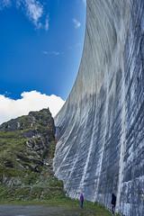 Moiry Barrage, Val d'Anniviers, Valais, Switzerland (swissukue) Tags: dam barrage moiry valais switzerland valdanniviers water heaven clouds