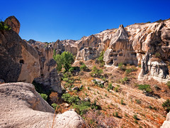 Goreme Open-Air Museum, Goreme, Cappadocia, Turkey (CamelKW) Tags: goremeopenairmuseum goreme cappadocia turkey turkey2016