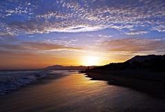 Reflejos (Antonio Chacon) Tags: andalucia atardecer marbella mlaga mar mediterrneo costadelsol espaa spain sunset