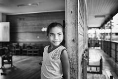 Brazil, 2016 (Matteo Selva) Tags: blackandwhite bw bn bianconero biancoenero blackwhite child children canon school scuola eyes brasile brazil par amazonia foresta rio trip viaggio