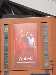 Anfield banner (lcfcian1) Tags: liverpool fc leicester city anfield football sport merseyside epl bpl premier league liverpoolfc leicestercity liverpoolvleicester liverpoolvleicestercity lfc lcfc jurgenklopp