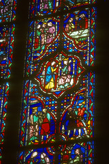 Stained Glass windows (chrisdingsdale) Tags: stained glass medieval church window art religion religious colors red blue