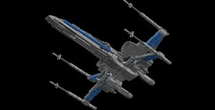 Resistance X-Wing 3.0: Belly (picardsbricks) Tags: lego starwars resistance xwing t70 poedameron elloasty bb8 snapwexley theforceawakens vii