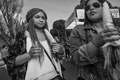 Roxborough - Night Market, 2016 (Alan Barr) Tags: philadelphia 2016 roxborough ridgeave street sp streetphotography streetphoto blackandwhite bw blackwhite mono monochrome candid people fujifilm x70