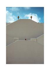 (Blackcat71) Tags: broadstairs kent uk stairs man banal shadow sky clouds mudane