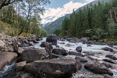 Norwegian landscape (huddart_martin) Tags: river water stones trees forest boulders valley mountans summer landscape norway nature norge sonya99