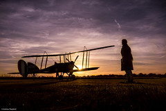 Stow Maries Sunrise (Articdriver) Tags: airfield aircraft biplane sunrise morning pilot ww1 stowmaries essex royalflyingcorps