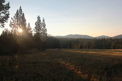 Basin Creek Sunrise (RPahre) Tags: basincreek backpacking tent camping sunrise overlookmountain