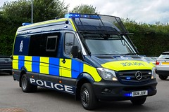 DG16 JUV (S11 AUN) Tags: cheshire police mercedes sprinter psu support unit pov public order vehicle carrier 999 emergency response driver training drivingschool dg16juv