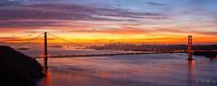 Sweet November (Willie Huang Photo) Tags: sf sanfrancisco california city bridge nature sunrise landscape cityscape marin scenic goldengatebridge goldengate bayarea marinheadlands hawkhill