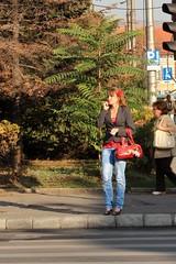 People Watching - Piaa Avram Iancu (Wayne W G) Tags: street people streets europe candid streetphotography jeans romania denim easterneurope romanian cluj clujnapoca geo:country=romania