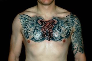 James Danger Harvey, Black and grey tattoowork, skin gallery Tattoo 5739 Auburn blvd sacramento ca 95841, (1)