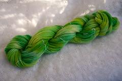 Majolica (MossyOwls) Tags: green wool yarn variegated dyed tonal wiltons handdyed