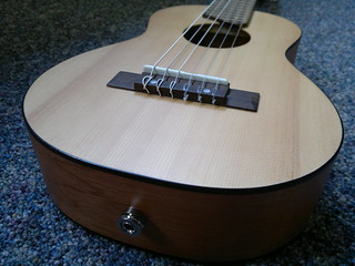 Yamaha Guitalele... with transducer pickup