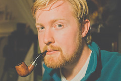 AlanPipes-1 (Dave Dueck) Tags: zeiss sony pipe smoking cz 24mm alpha 18 smoker tobacco sonnar pipesmoker pipeman nex7