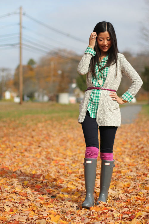 Have thought asian girls wearing knee high socks