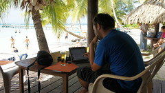 """Great desk on the island of Moorea • <a style=""""font-size:0.8em;"""" href=""""http://www.flickr.com/photos/87636534@N08/8198813916/"""" target=""""_blank"""">View on Flickr</a>"""