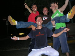 "Brent being mobbed in Seville 2006 • <a style=""font-size:0.8em;"" href=""http://www.flickr.com/photos/37867910@N00/8198854021/"" target=""_blank"">View on Flickr</a>"
