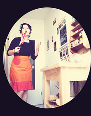 Through the looking glass (...cathrine) Tags: woman cooking female dinner vintage donna movement 60s suburbia knife cook womens retro apron madness rights 1950s murder feminism 50s kche frau housewife throughthelookingglass kochen hausfrau 60er 50er casalinga cucinare desperatehousewife homemaker schrze bettyfriedan suburbanhousewife retrocolors casalingadisperata comeonoverfordinner theproblemthathasnoname
