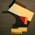 "<b>Structure, 1942 (after: Arthur Dove)</b><br/> Rebecca Kamm (Art Quilt, 2011)<a href=""http://farm9.static.flickr.com/8198/8200571468_60a9e01475_o.jpg"" title=""High res"">∝</a>"
