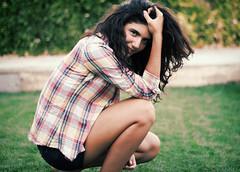 Maria (Luca Lpez) Tags: portrait smile procesocruzado retrato adolescente young crossprocessing teenager sonrisa joven canon1000d