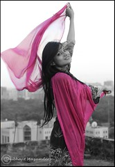 Spreading the WINGS...!! (Shubha_Jit) Tags: rooftop freedom wings