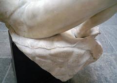 Barberini Faun, pelt