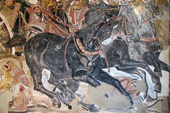 Alexander Mosaic, detail with horse