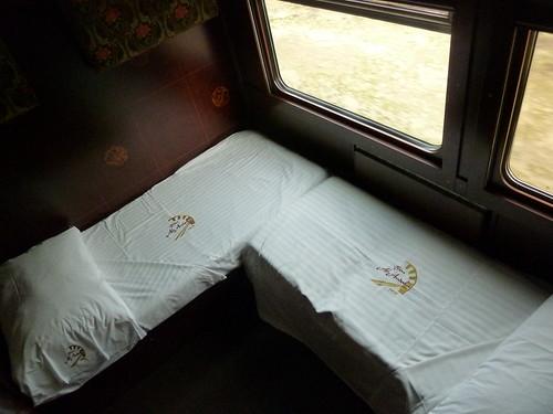 AL Andalus - luxury train in Spain, standard suite, night