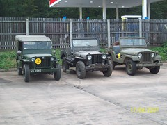 Line up of jeeps (duncan millman) Tags: summer2012