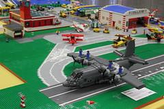 AC-130H Spectre (Andreas) Tags: lego legoplane legogunship legoac130