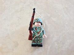 WIP (Random_Name11) Tags: lego wwii camo german brickarms