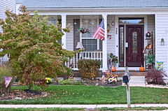2012-10-26 (217) Halloween (JLeeFleenor) Tags: halloween flags